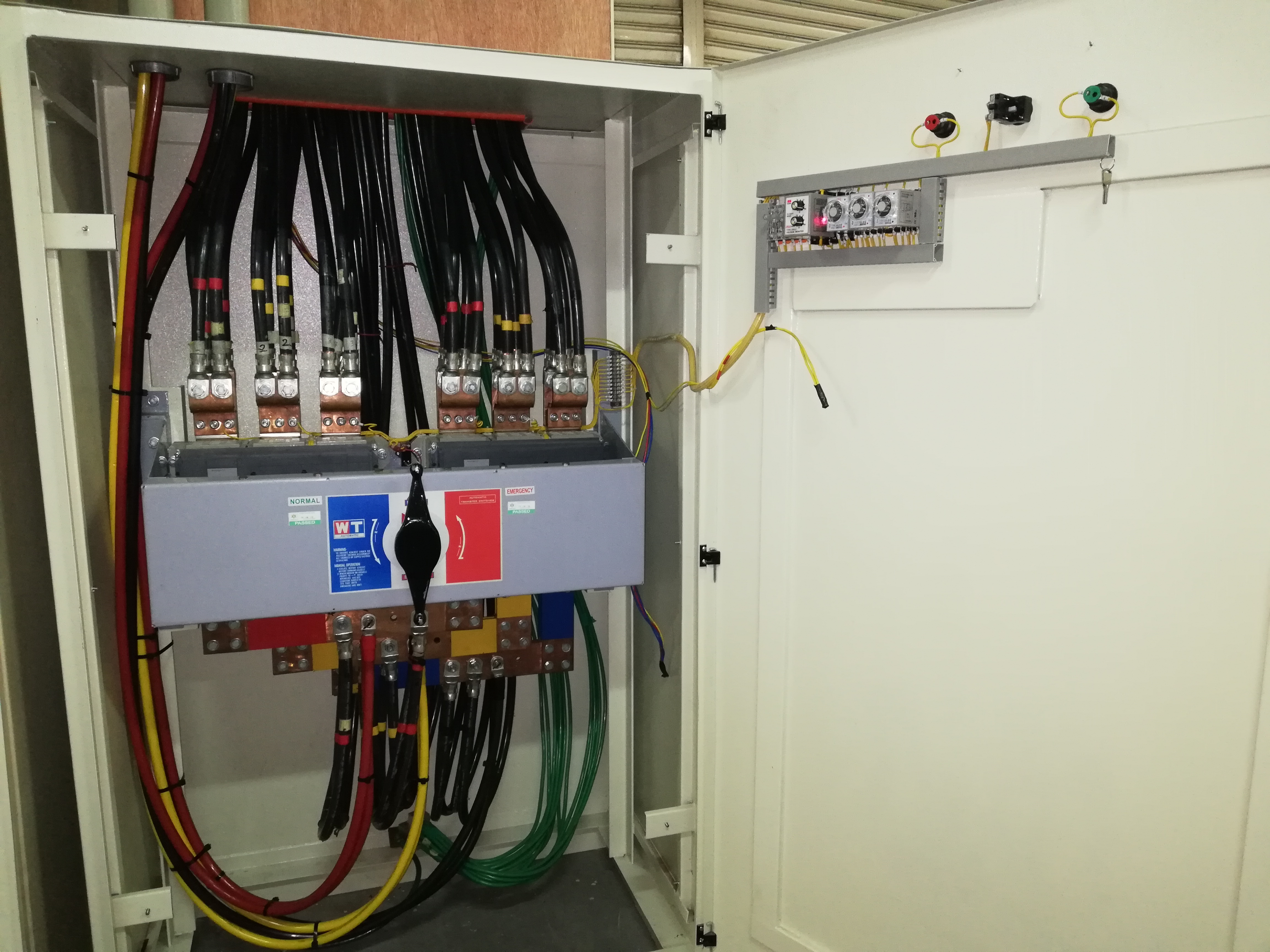 Philippine Hoh Industries Incorporated Wiring Works Telford Clean Room Electrical Installation